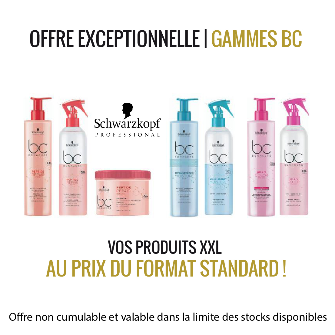 Gamme BC Access Coiffure